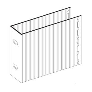 П-Кронштейн фасадный несущий ПКН1-190 для Навесных вентилируемых фасадов