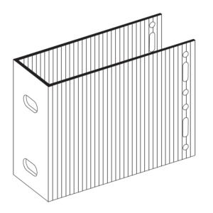П-Кронштейн фасадный несущий ПКН2-150 для Навесных вентилируемых фасадов