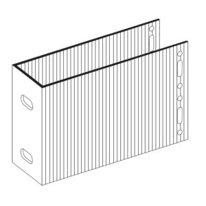 П-Кронштейн фасадный несущий ПКН2-190 для Навесных вентилируемых фасадов