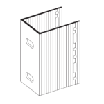 П-Кронштейн фасадный несущий ПКН2-80 для Навесных вентилируемых фасадов