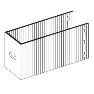 П-Кронштейн фасадный опорный ПКО1-150 для Навесных вентилируемых фасадов