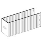 П-Кронштейн фасадный опорный ПКО1-190 для Навесных вентилируемых фасадов