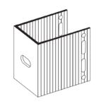П-Кронштейн фасадный опорный ПКО1-80 для Навесных вентилируемых фасадов
