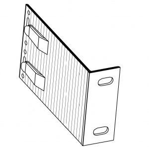 Кронштейн фасадный несущий КН3-190