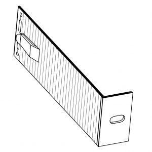 Кронштейн фасадный опорный КО1-230