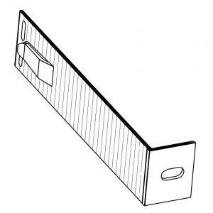 Кронштейн фасадный опорный КО3-230