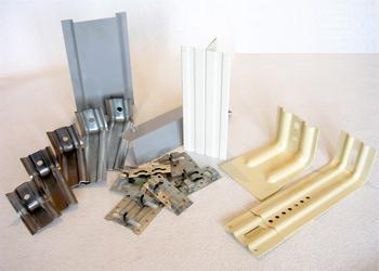 Элементы для НВФ из стали (нержавейка, оцинкованная сталь, холоднокатанная сталь)